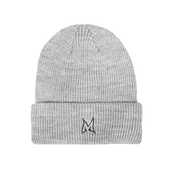 MINI LADD® | WAVY LOGO BEANIE (HEATHER GRAY)