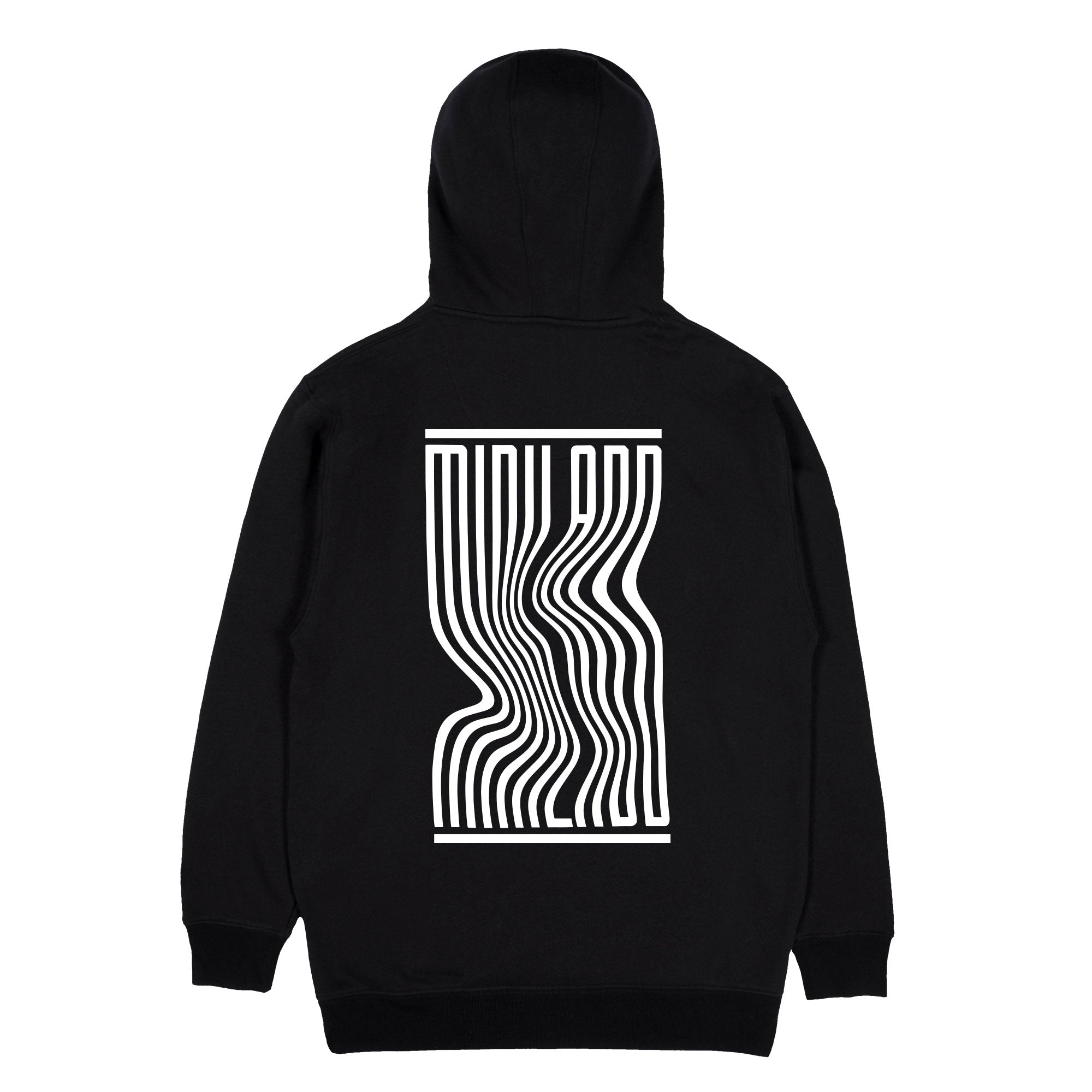 MINI LADD® | WAVY HOODIE (BLACK) LIMITED EDITION