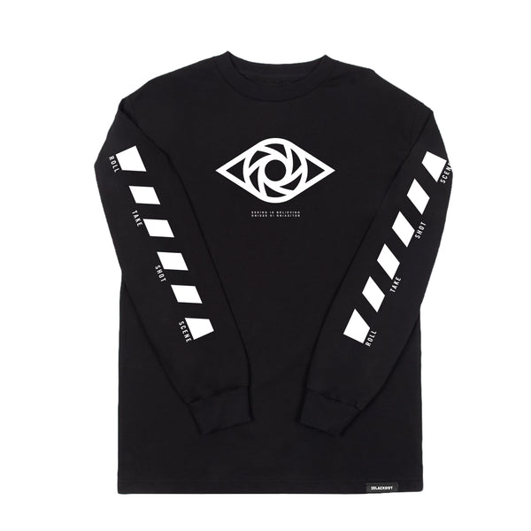 MINI LADD® | EYE LONG-SLEEVE TEE (BLACK) LIMITED EDITION