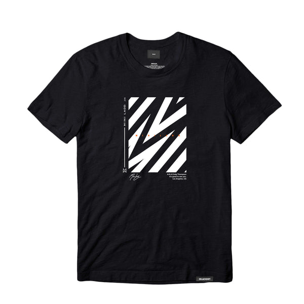 MINI LADD® | STRIPES TEE (BLACK)