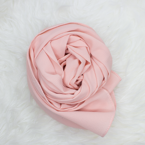 Scarf & Me Georgette Jersey Collection Candied Peach