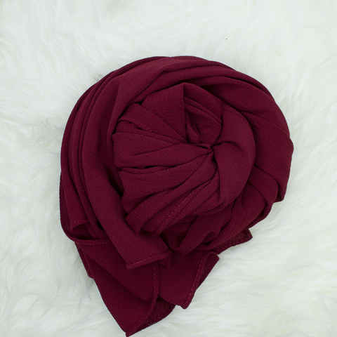 Scarf & Me Georgette Jersey Collection Rosewood
