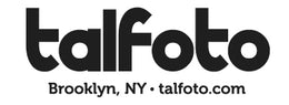 TALFOTO LOGO IN BLACK & WHITE