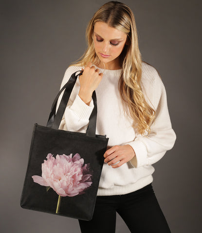 Peony Reusable Biodegradable Shopping Bag by Talfoto