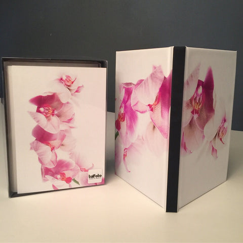 Orchids Gift Box Set + Notebook