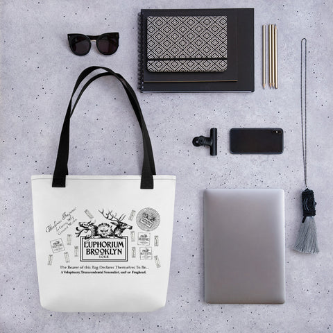 Euphorium Brooklyn Tote bag