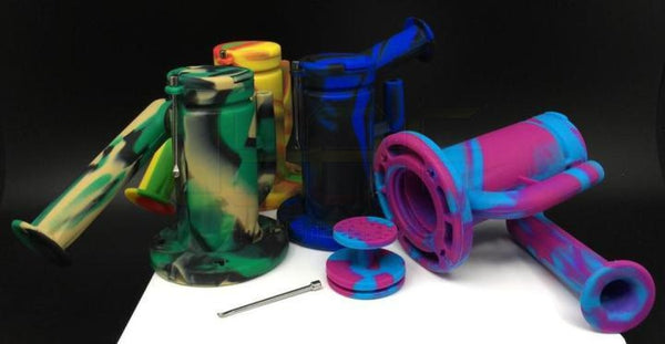 "7"" Silicone Water Pipe"