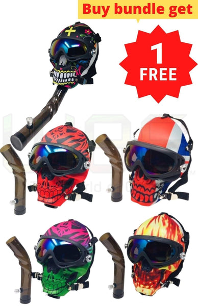 9 Full Face Gas Mask Bundle + 1 FREE