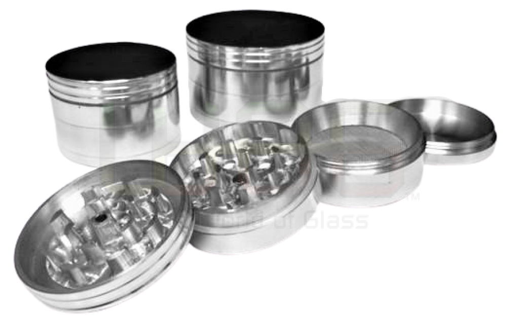 50 Or 60Mm Four Parts Silver Grinder