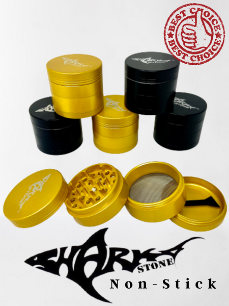 50mm Sharkstone Nonstick 4 Part Grinder