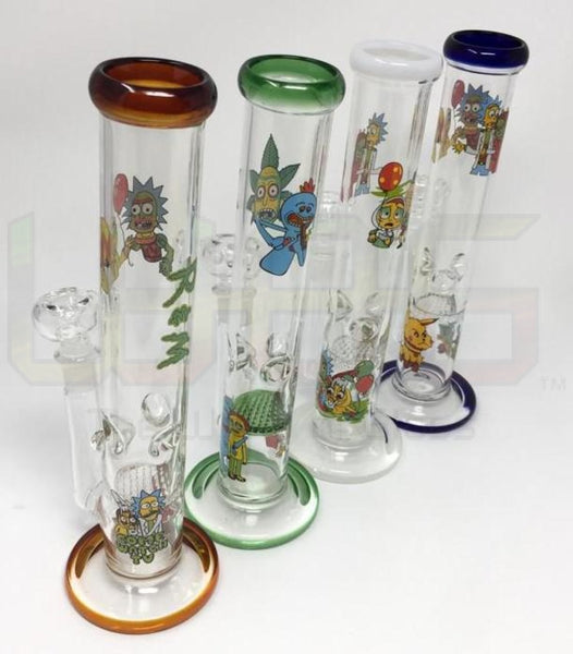 10 Rm Ice Catcher Honeycomb Water Pipe Multi Logo