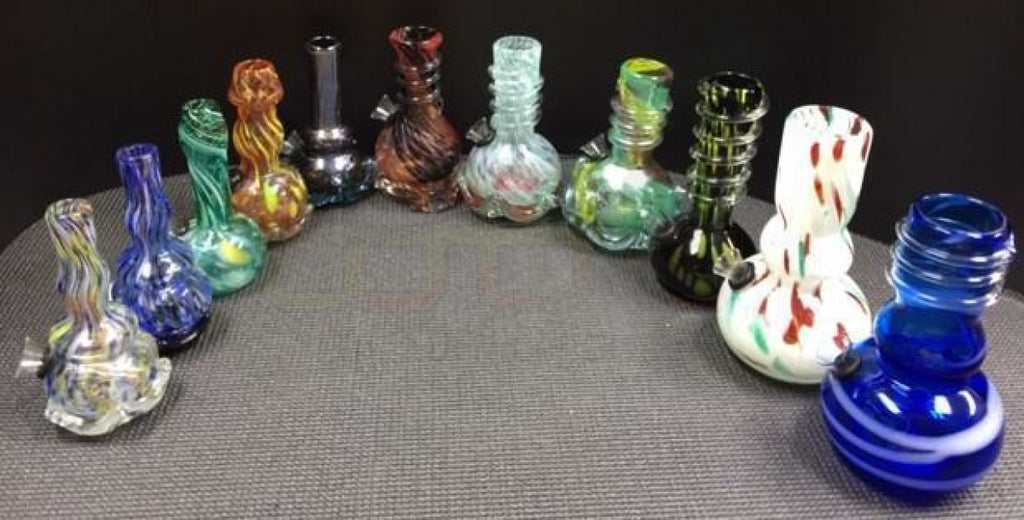 "5"" - 6"" Soft Glass Water Pipe"