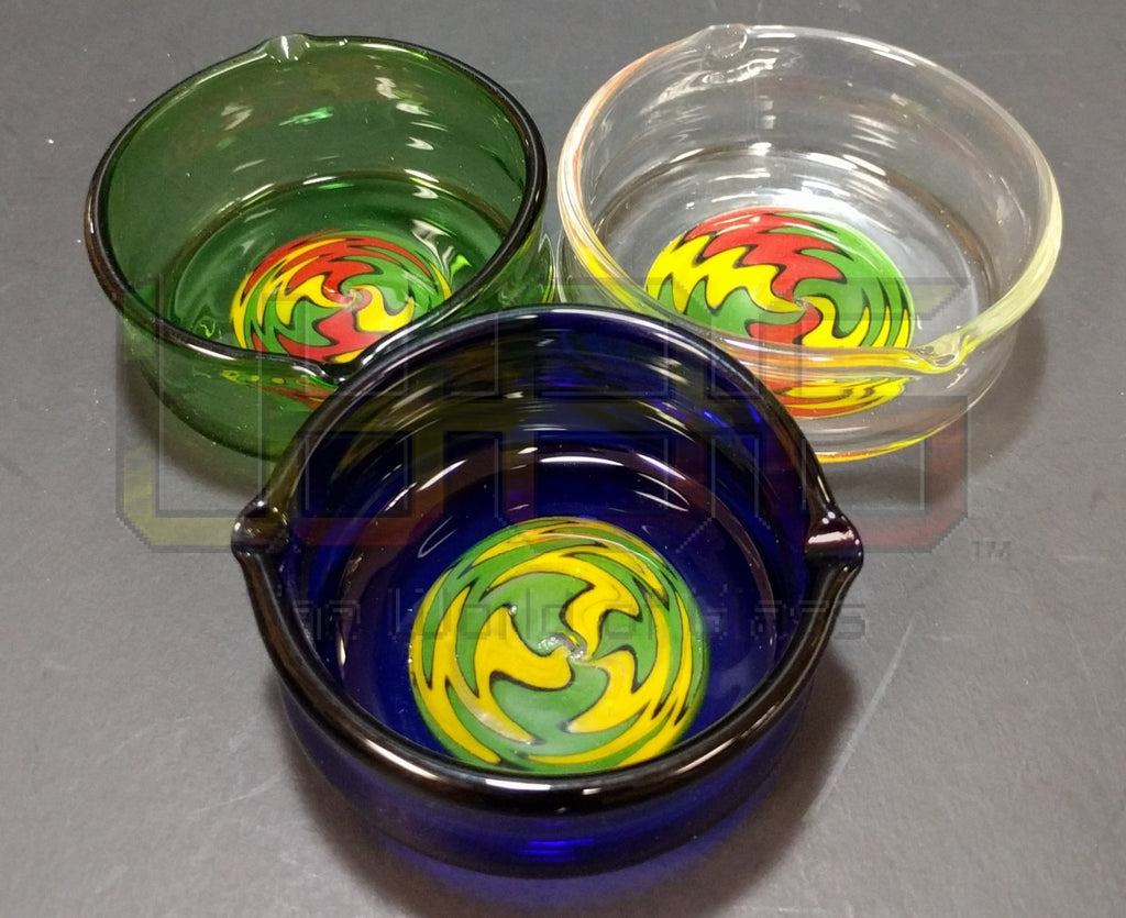 2.5 Borosilic Reverse Art Work Ashtray WOG ACC 41