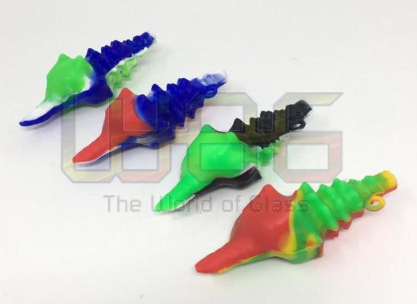 5 Silicone Seashell Hand Pipe