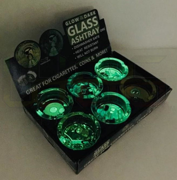 "3"" RM Glow In The Dark 6ct Ashtray"