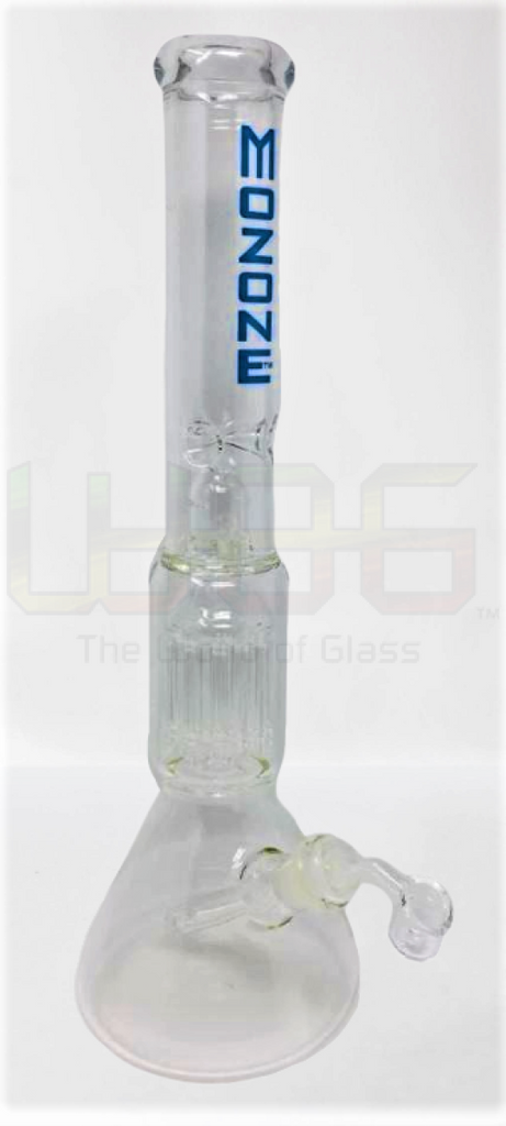 "18"" Blue MoZone Dome Showerhead Water Pipe"