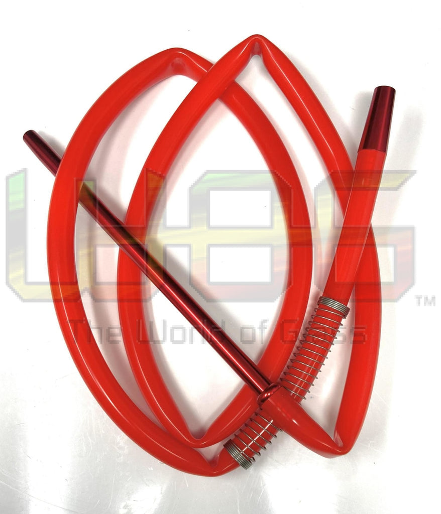 70 Silicone Hookah Hose Red