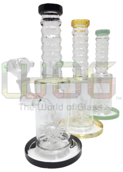 8 Spring Neck Water Pipe