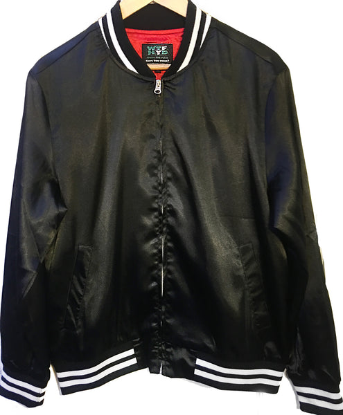 'What the fuck have you done?' Baseball Bomber Jacket