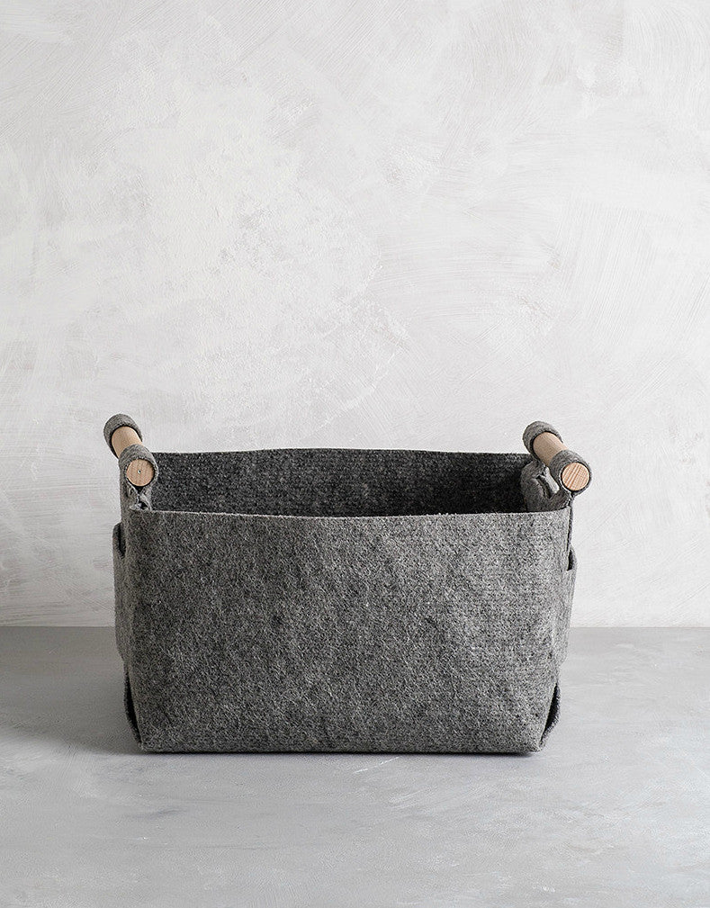 Medium Felt Storage Basket