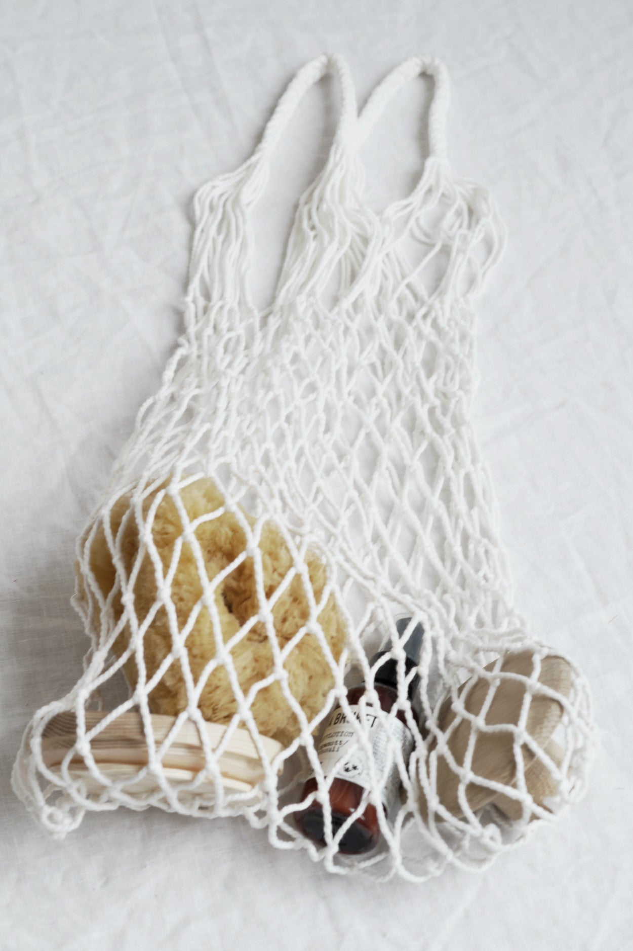 Eco Mesh Bag, White