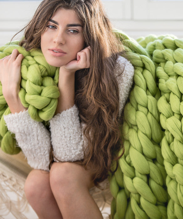 Large Blanket, Green