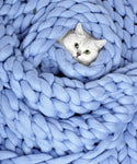 Medium Blanket, Blue