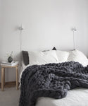 Medium Blanket, Dark Grey