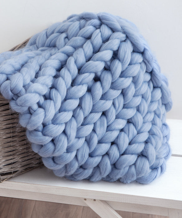 Small Blanket, Blue