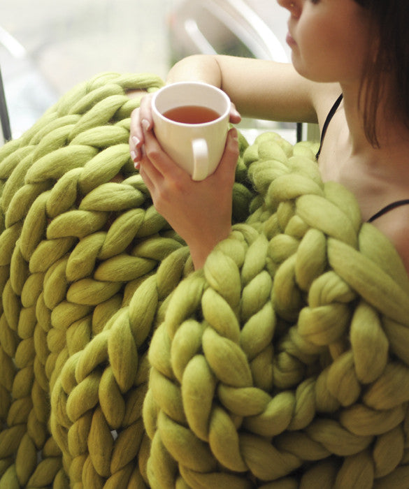 Medium Blanket, Green