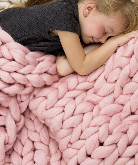 Small Blanket, Pink