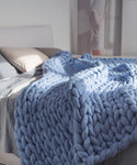 Extra Large Blanket, Blue