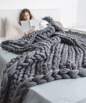 Extra Large Blanket, Dark Grey