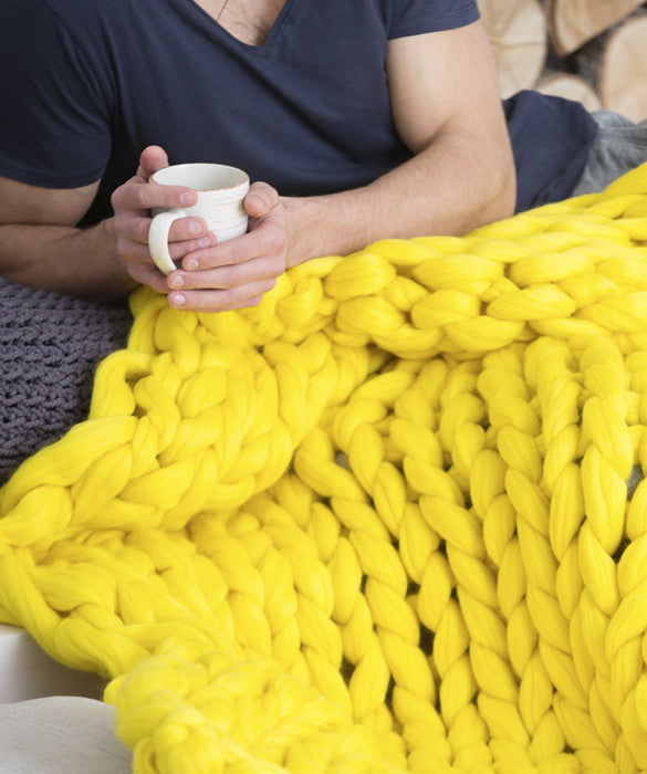 Extra Large Blanket, Yellow