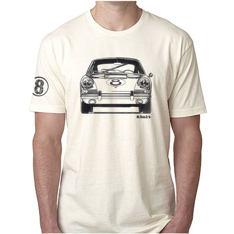 911 Front Ivory tee shirt