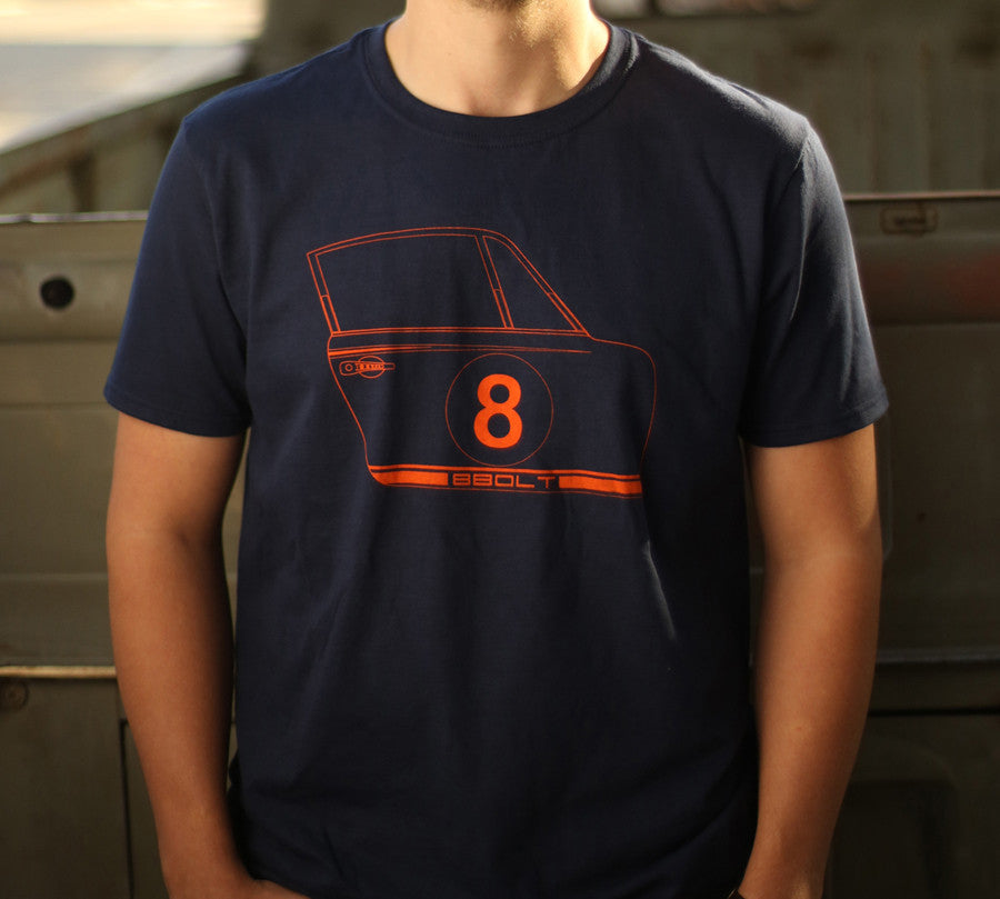 911 Door t-shirt Navy