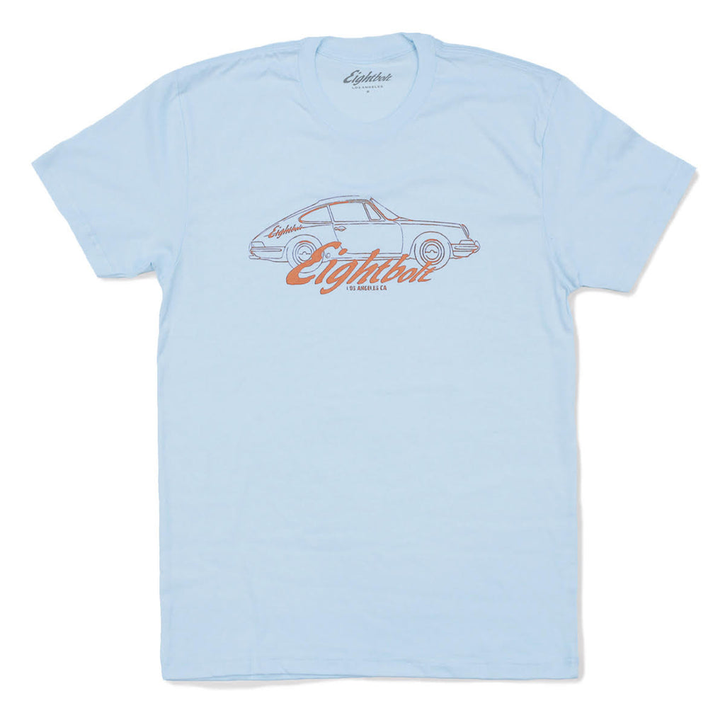 Eightbolt Logo Light Blue t-shirt