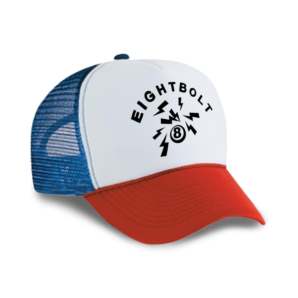 Tricolor Logo Trucker (Out of stock)