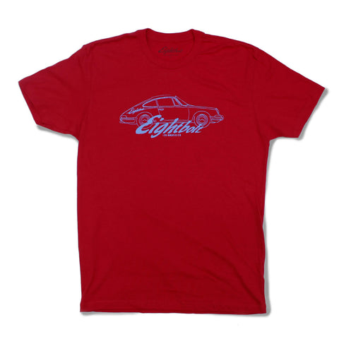 Eightbolt Logo Red t-shirt