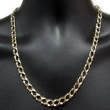 10k Casting fait ?  la main Chaine Homme MGC-057 | Chain for men in 10K gold handmade-Gold Custom