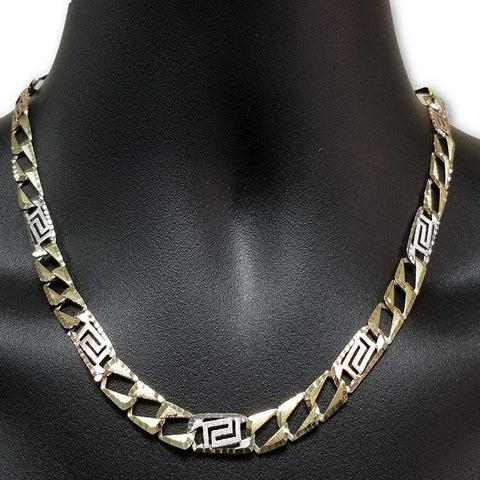 10k Chaine en or Versace Homme MGC-061 | Chain Versace for men in gold 10K-Gold Custom