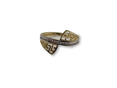 Bague en or 10k ed-002