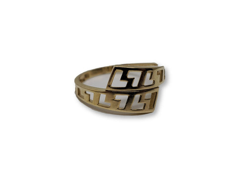 Bague en or 10k ed-004