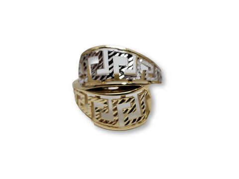 Bague en or 10k ed-007