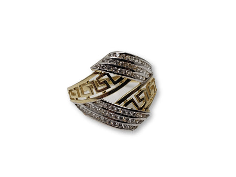 Bague en or 10k ed-008