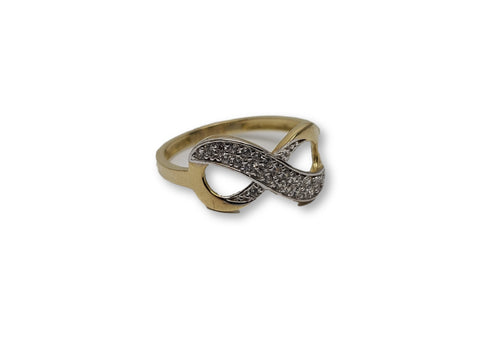 Bague en or 10k ed-013