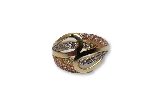 Bague en or 10k ed-022
