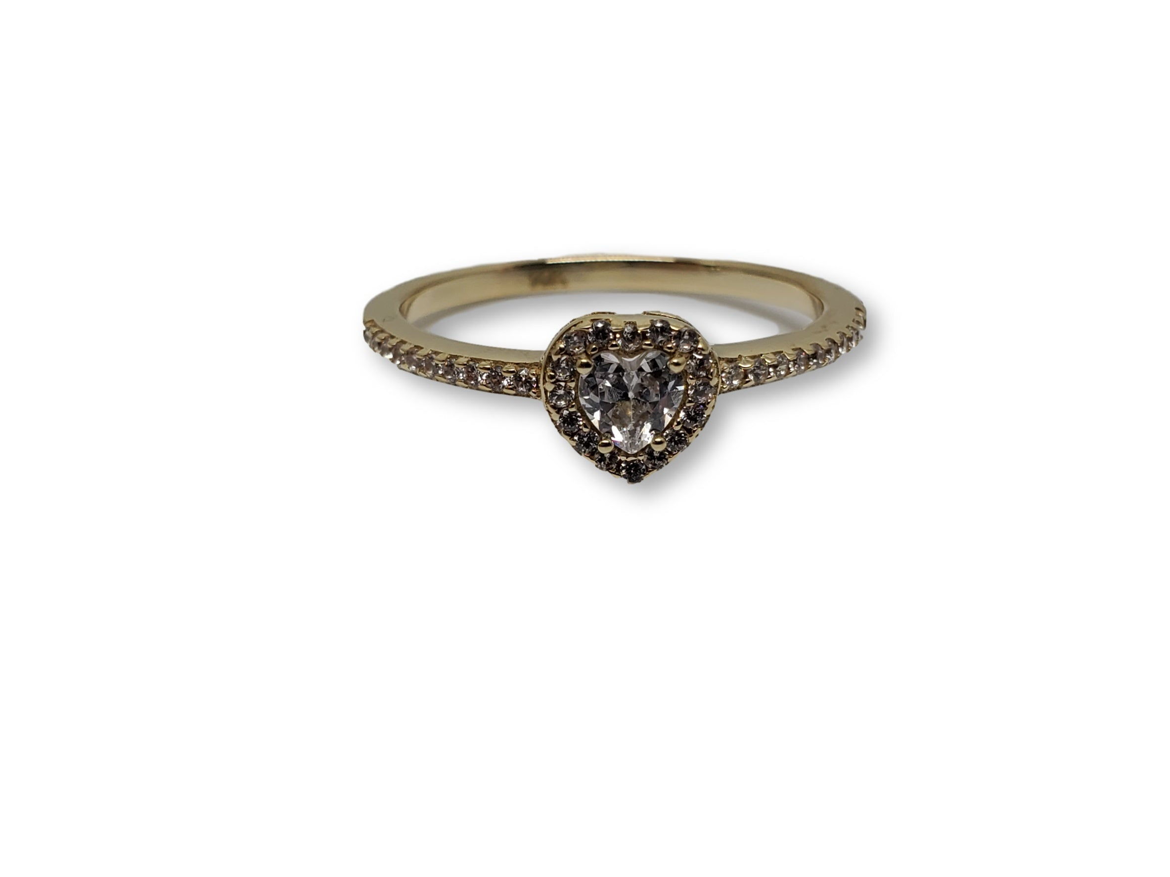 Bague coeur en or 10k model 2020