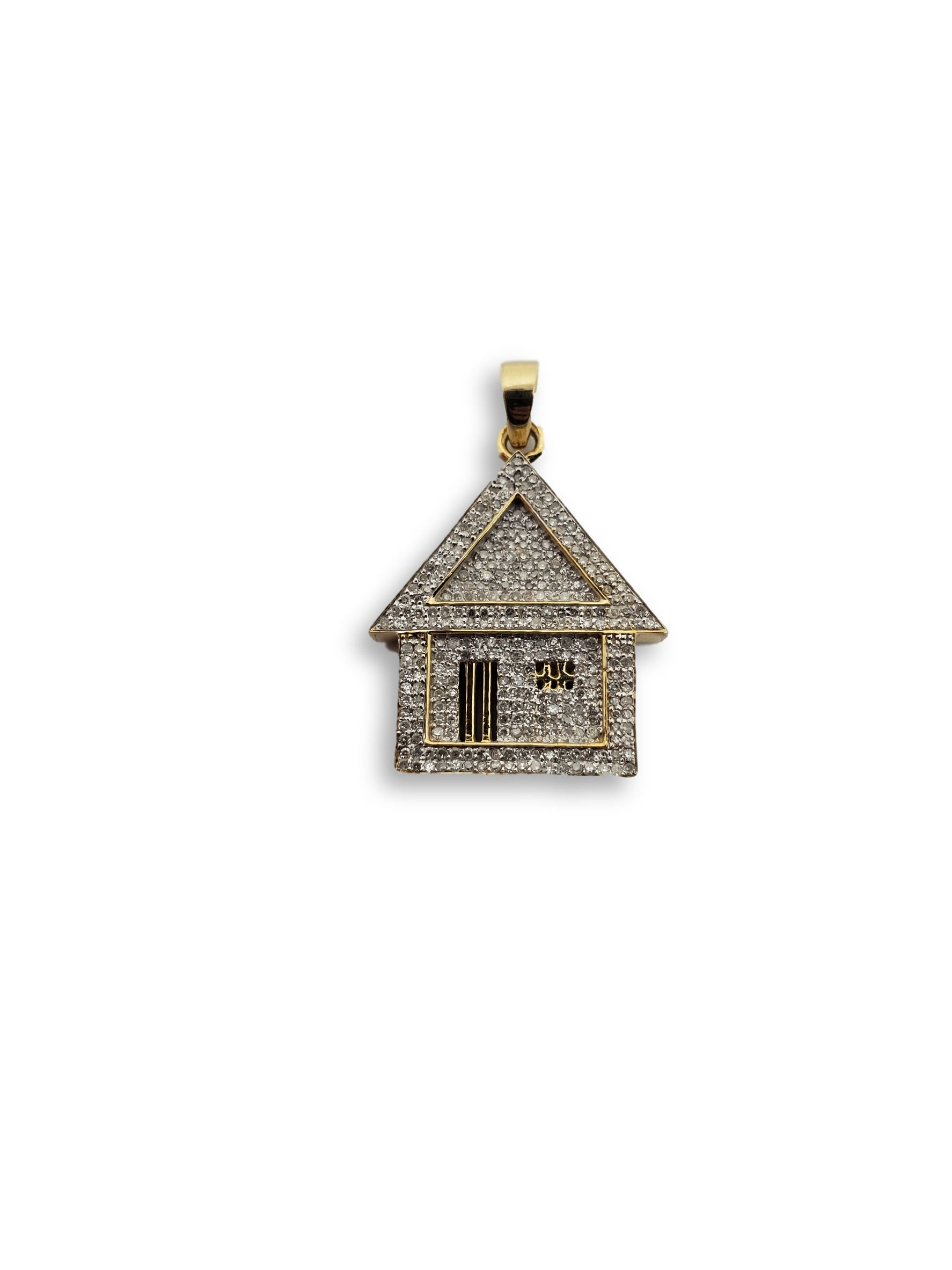 Trap house  0.80ct Diamants en or jaune 10K