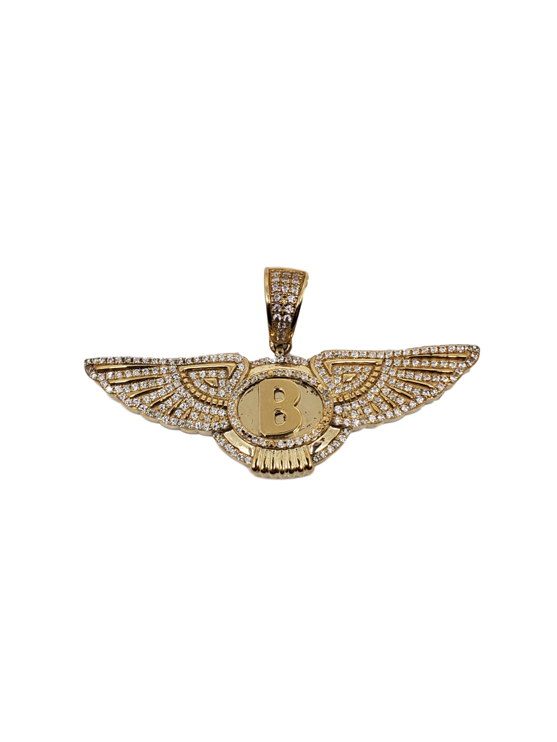 Bentley pendentif -2020 en or 10k